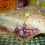 Raspberry Apple Cream Cheese Pie